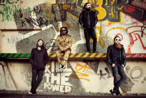 metal-dancehall 'kill the power' by uk band skindred