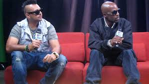 rap star dmx and jamaican dancehall superstar sean paul