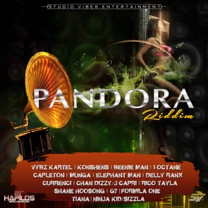 pandora riddim distributed by 21st hapilos entertainment said to blaze summer 2015