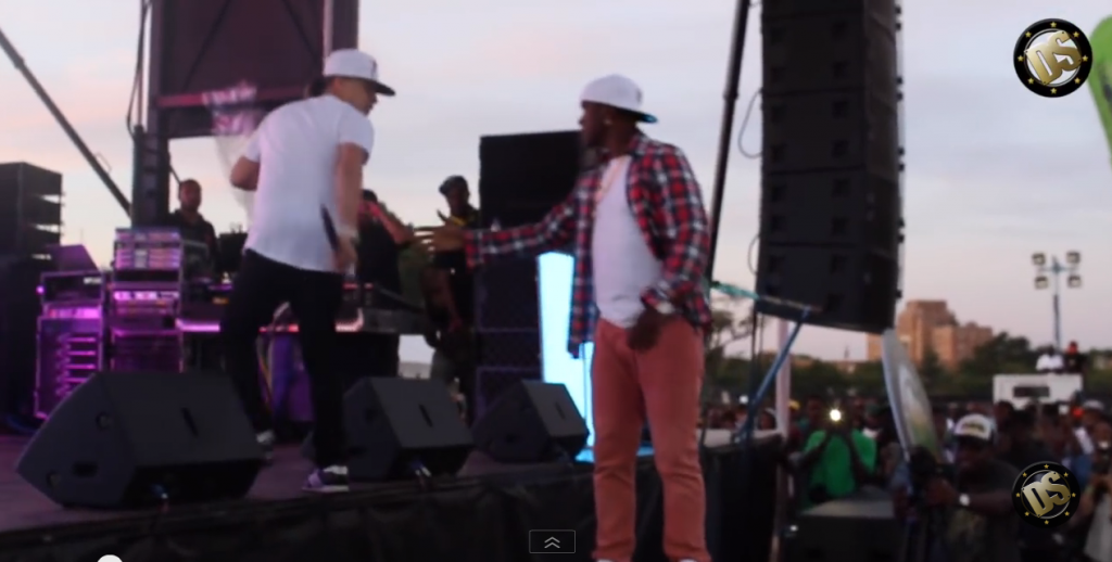 red dat diss mr vegas live at roy wilkins park in new york